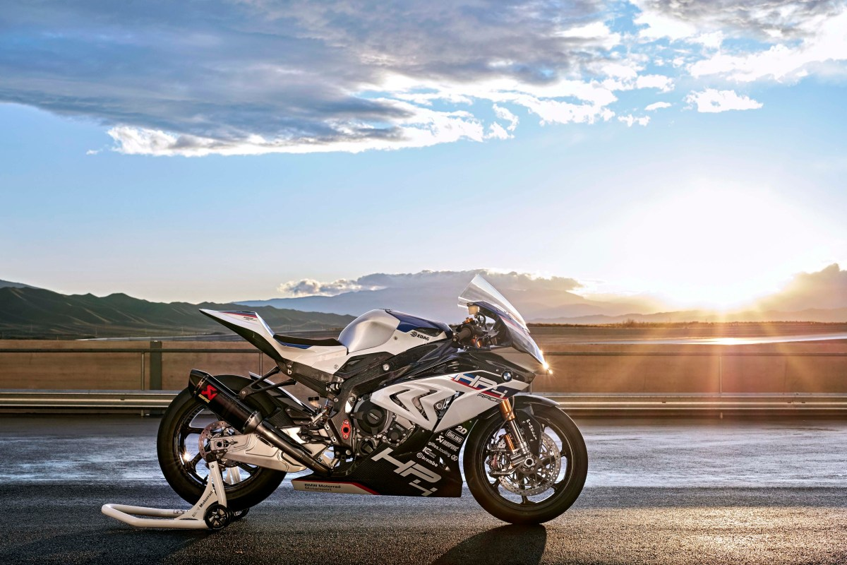 Watch the BMW HP4 Race Do Its Thing